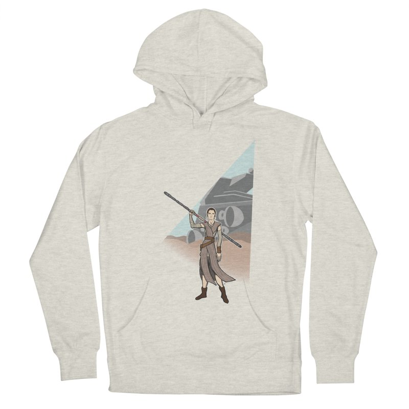 Rey of Hope Women's French Terry Pullover Hoody by Joel Siegel's Artist Shop