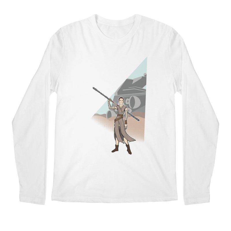 Rey of Hope Men's Regular Longsleeve T-Shirt by Joel Siegel's Artist Shop