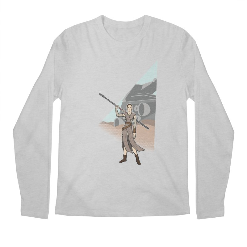 Rey of Hope Men's Regular Longsleeve T-Shirt by Joel Siegel's Artist Shop