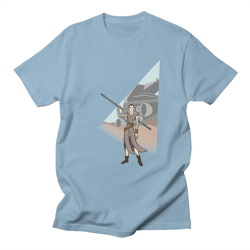 Rey of Hope Men's T-shirt by Joel Siegel's Artist Shop