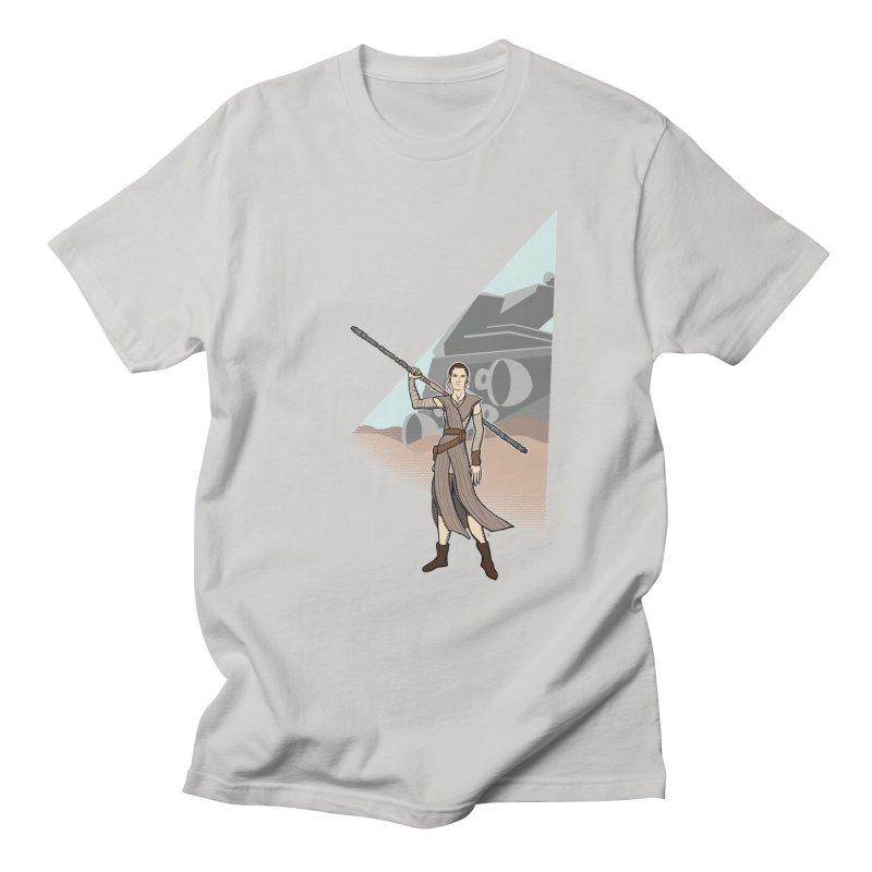 Rey of Hope Men's T-Shirt by Joel Siegel's Artist Shop