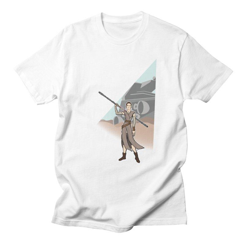 Rey of Hope Men's Regular T-Shirt by Joel Siegel's Artist Shop