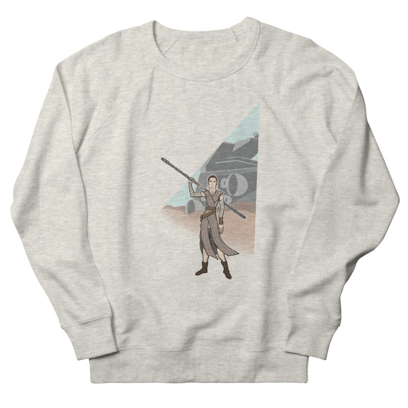 Rey of Hope Men's Sweatshirt by Joel Siegel's Artist Shop
