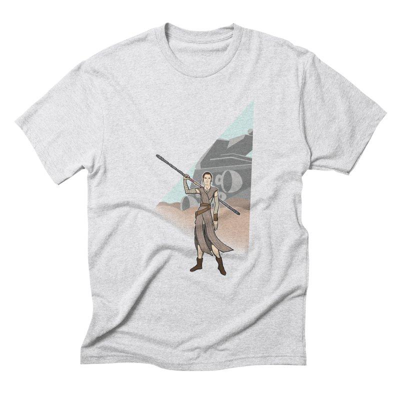 Rey of Hope Men's Triblend T-Shirt by Joel Siegel's Artist Shop