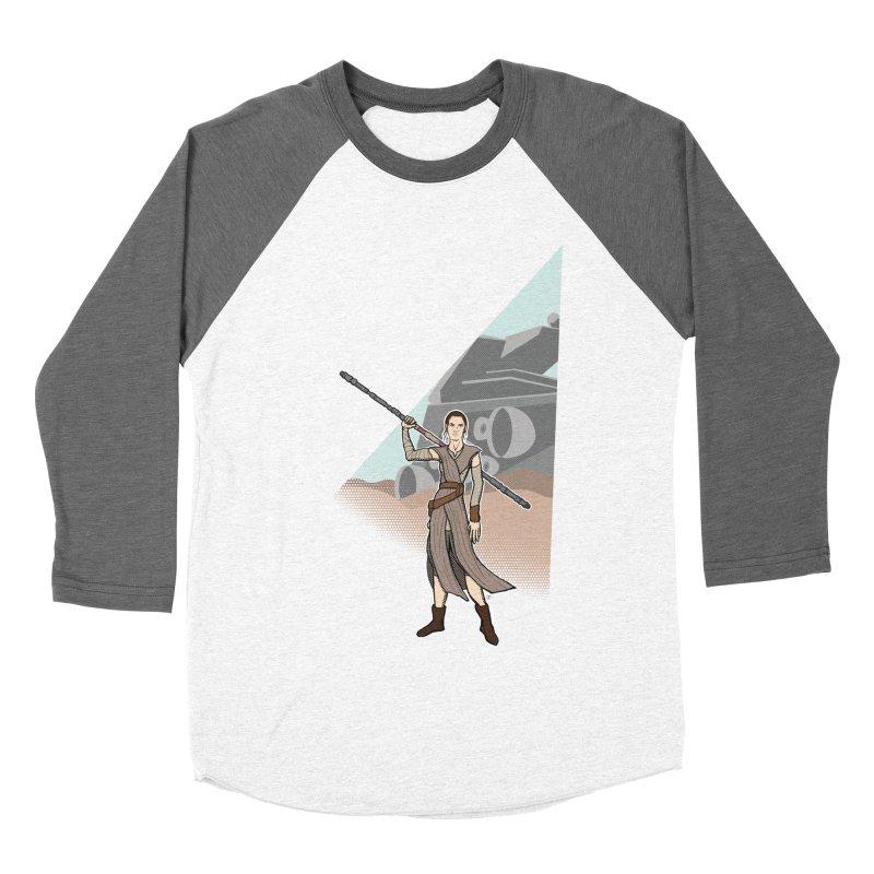 Rey of Hope Women's Baseball Triblend T-Shirt by Joel Siegel's Artist Shop