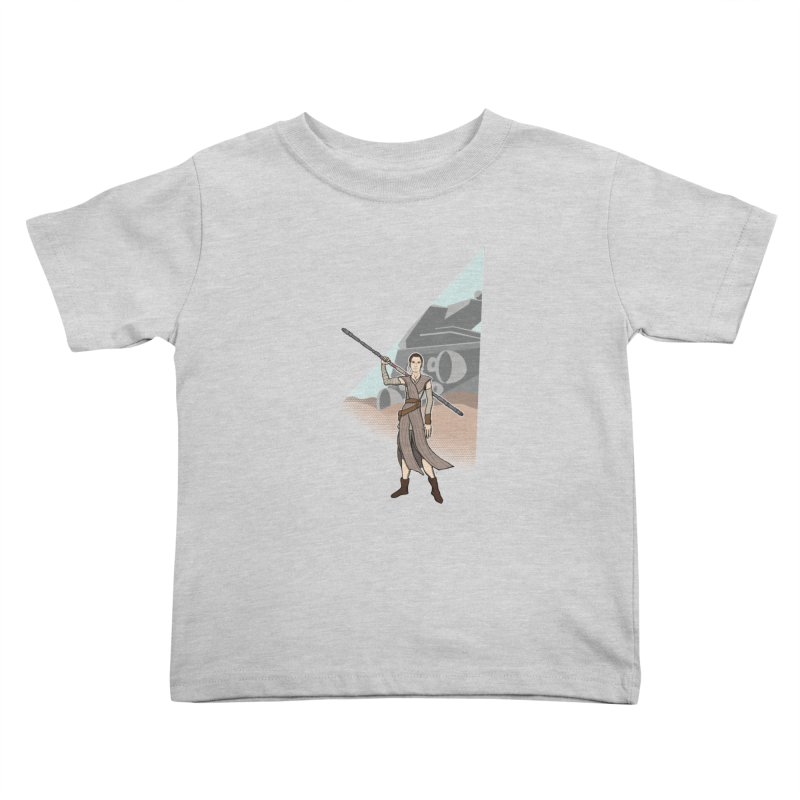 Rey of Hope Kids Toddler T-Shirt by Joel Siegel's Artist Shop