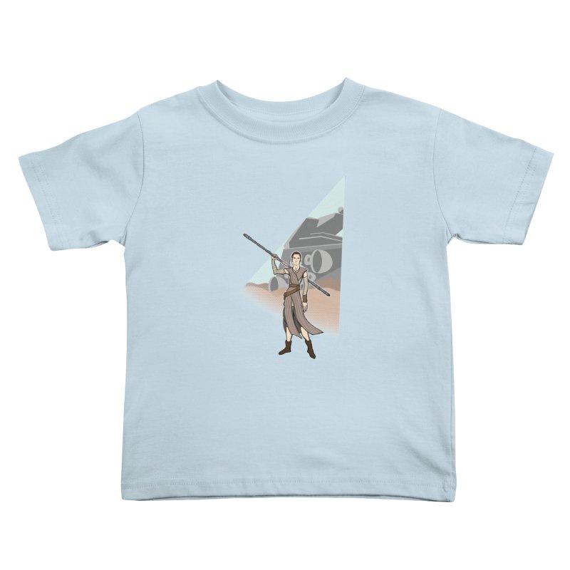 Rey of Hope Kids Toddler T-Shirt by Joel Siegel's Artist Shop