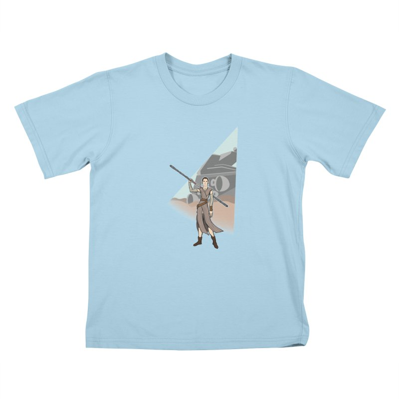 Rey of Hope Kids T-Shirt by Joel Siegel's Artist Shop