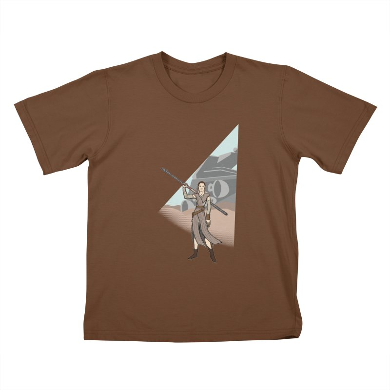 Rey of Hope Kids T-shirt by Joel Siegel's Artist Shop