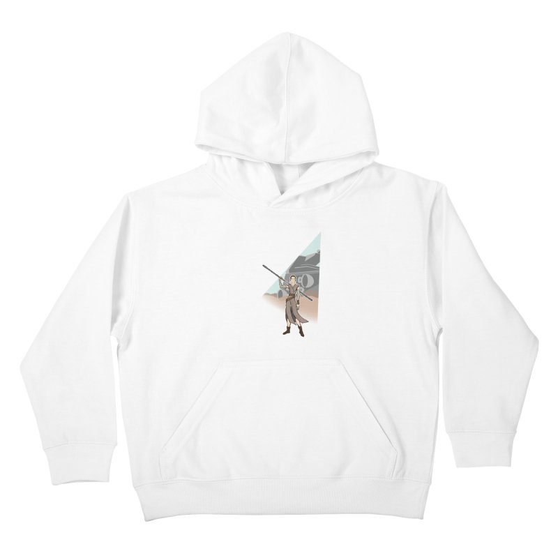 Rey of Hope Kids Pullover Hoody by Joel Siegel's Artist Shop