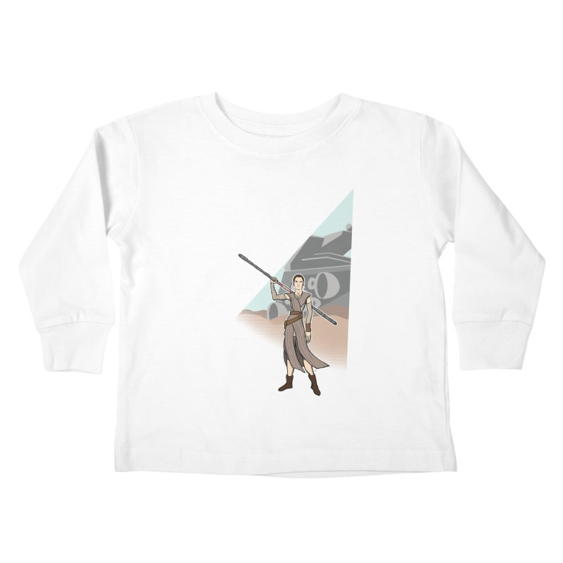 Rey of Hope Kids Toddler Longsleeve T-Shirt by Joel Siegel's Artist Shop