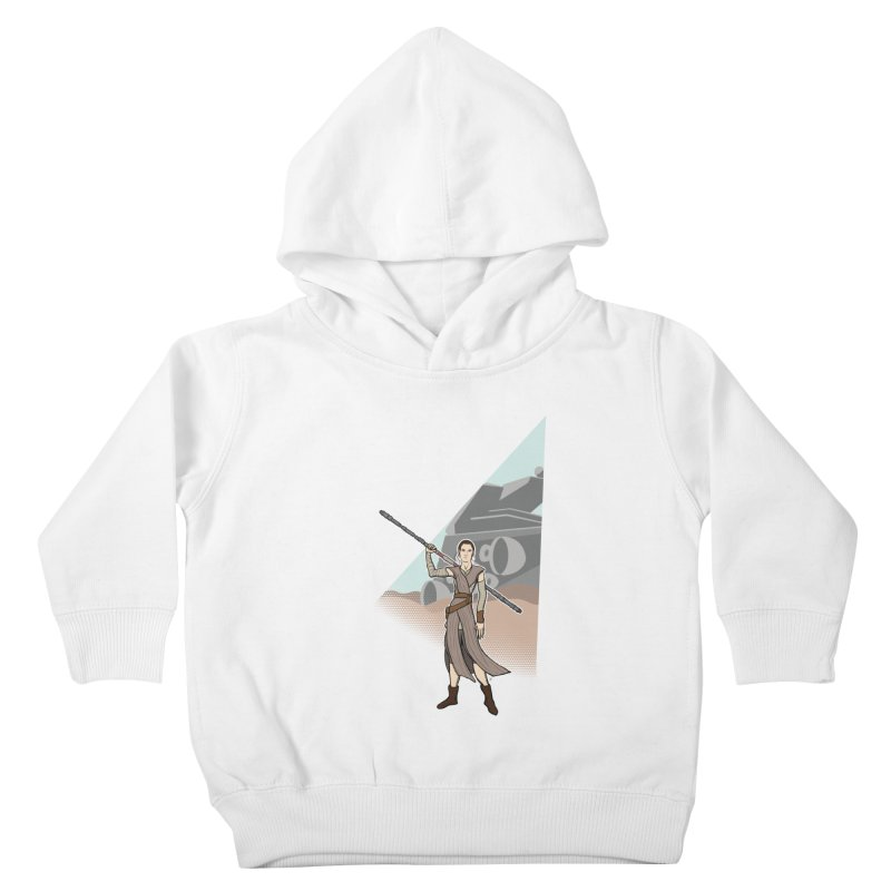 Rey of Hope Kids Toddler Pullover Hoody by Joel Siegel's Artist Shop