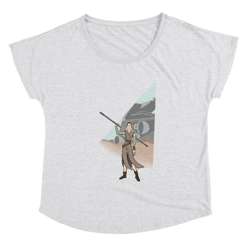 Rey of Hope Women's Dolman Scoop Neck by Joel Siegel's Artist Shop
