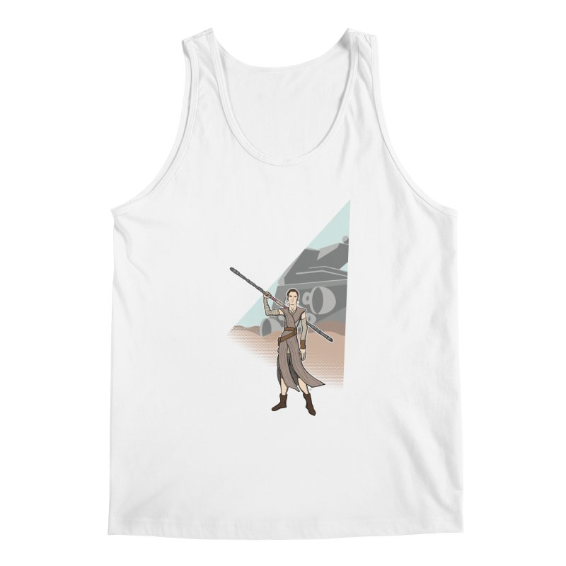 Rey of Hope Men's Regular Tank by Joel Siegel's Artist Shop