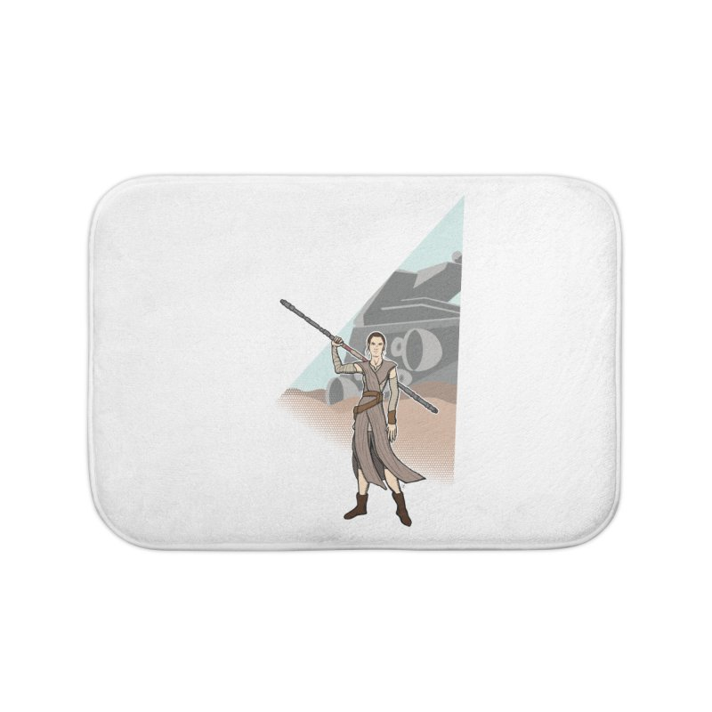 Rey of Hope Home Bath Mat by Joel Siegel's Artist Shop
