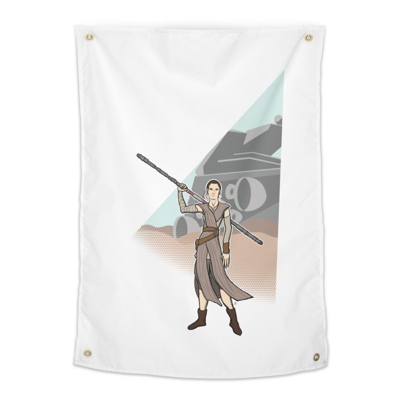 Rey of Hope Home Tapestry by Joel Siegel's Artist Shop