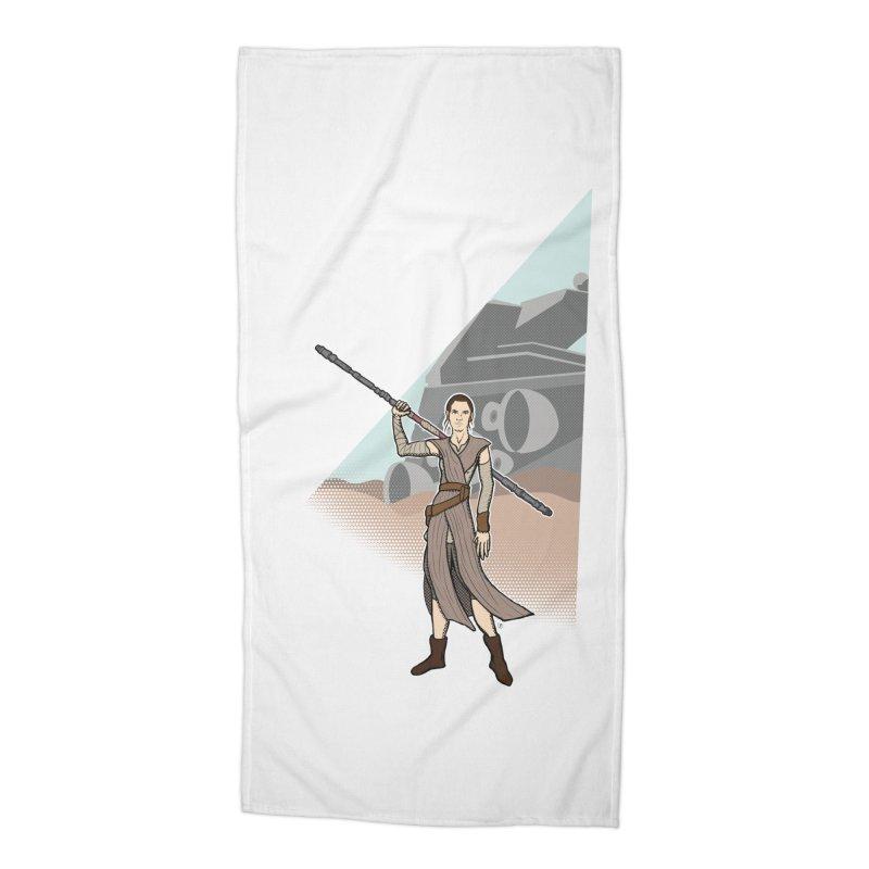 Rey of Hope Accessories Beach Towel by Joel Siegel's Artist Shop