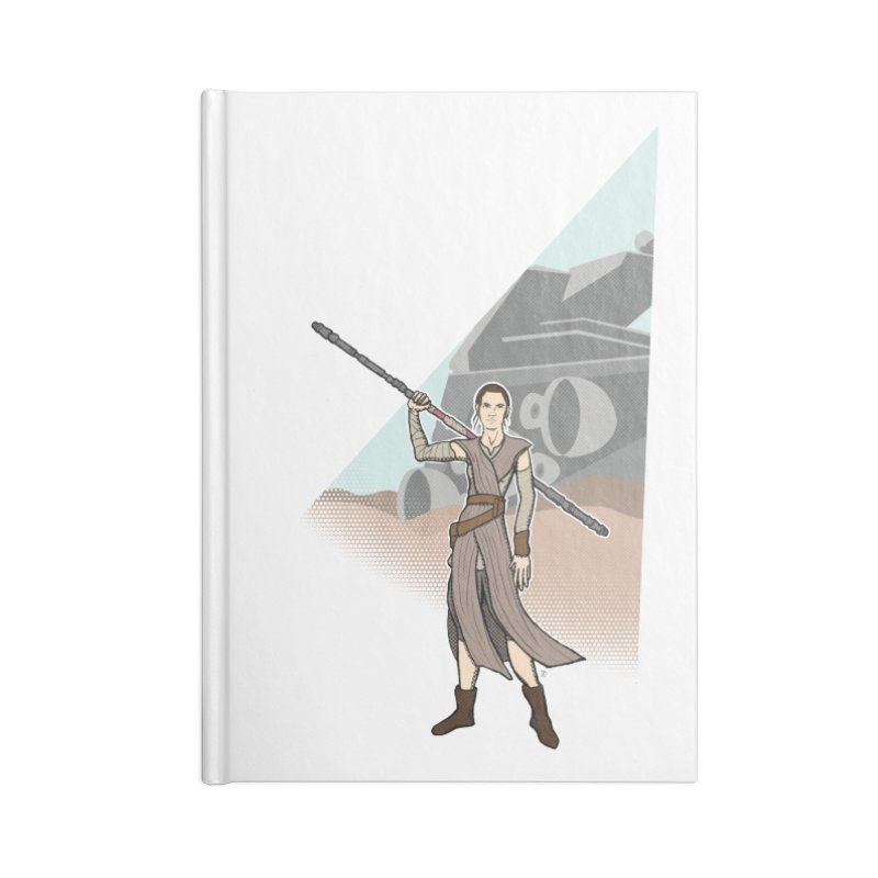 Rey of Hope Accessories Notebook by Joel Siegel's Artist Shop