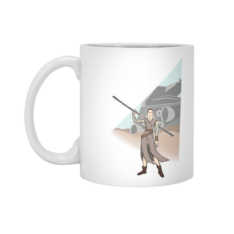 Rey of Hope Accessories Mug by Joel Siegel's Artist Shop