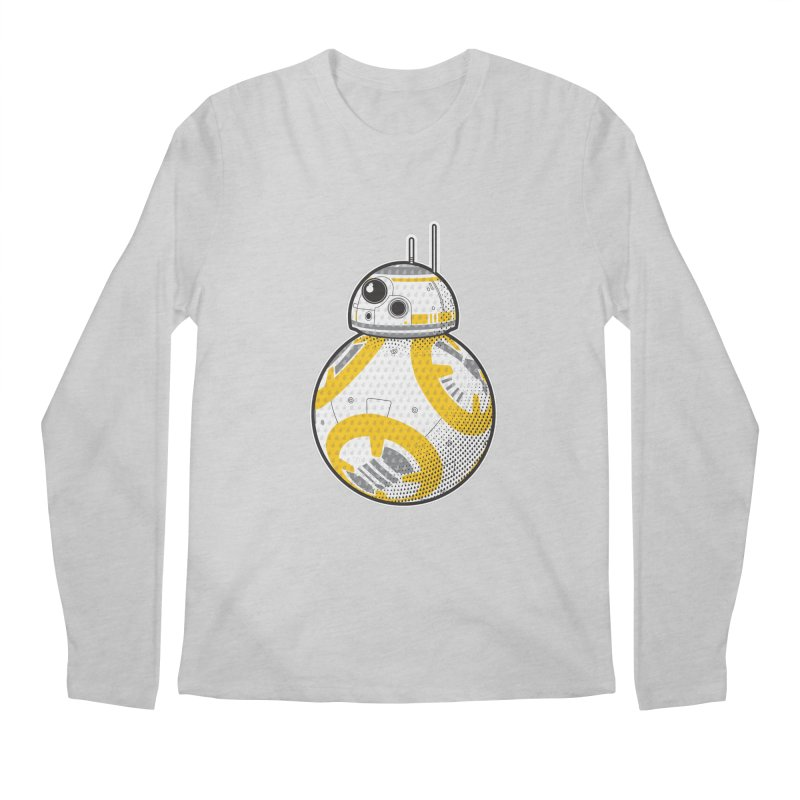 Meta BB-8 Men's Regular Longsleeve T-Shirt by Joel Siegel's Artist Shop