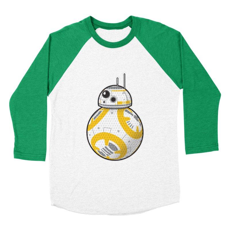 Meta BB-8 Women's Baseball Triblend T-Shirt by Joel Siegel's Artist Shop