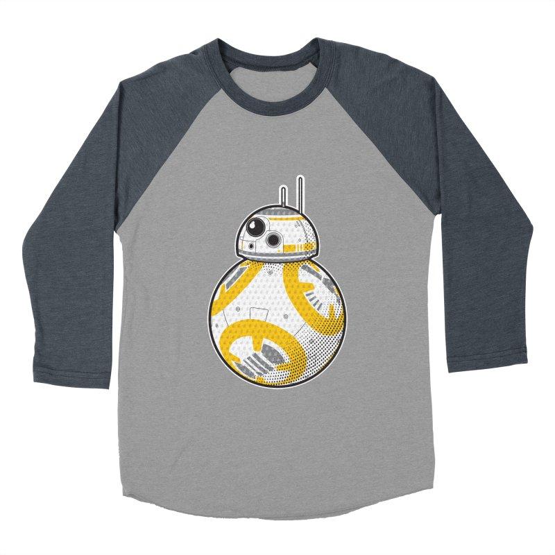 Meta BB-8 Women's Baseball Triblend Longsleeve T-Shirt by Joel Siegel's Artist Shop