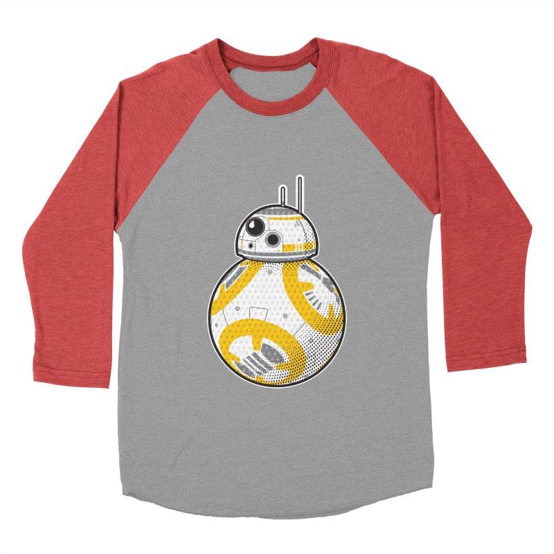 Meta BB-8 Men's Baseball Triblend T-Shirt by Joel Siegel's Artist Shop