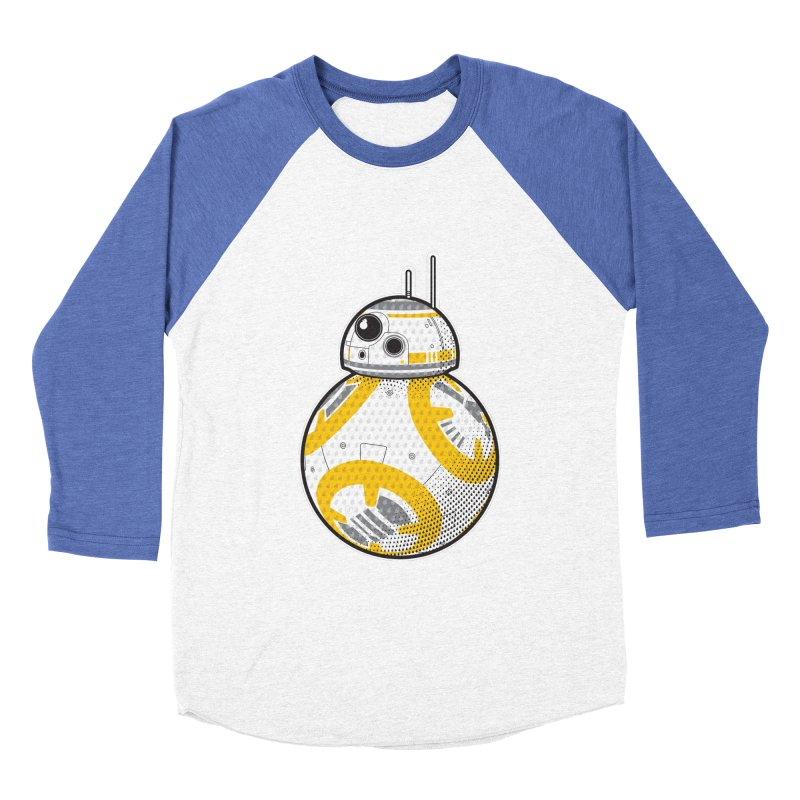 Meta BB-8 Men's Baseball Triblend Longsleeve T-Shirt by Joel Siegel's Artist Shop