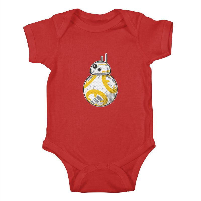 Meta BB-8 Kids Baby Bodysuit by Joel Siegel's Artist Shop