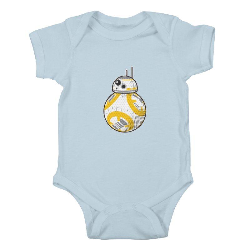 Meta BB-8 Kids Baby Bodysuit by Joel Siegel's Artist Shop