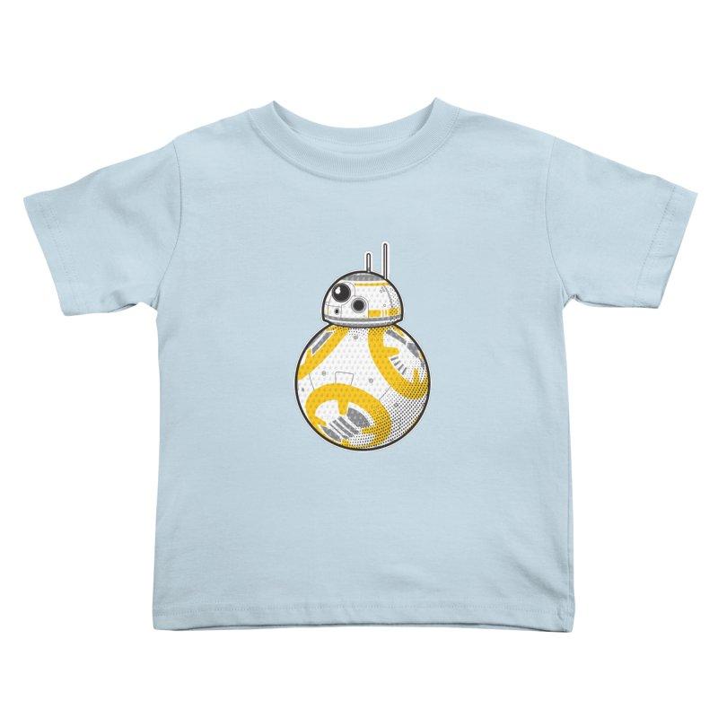 Meta BB-8 Kids Toddler T-Shirt by Joel Siegel's Artist Shop