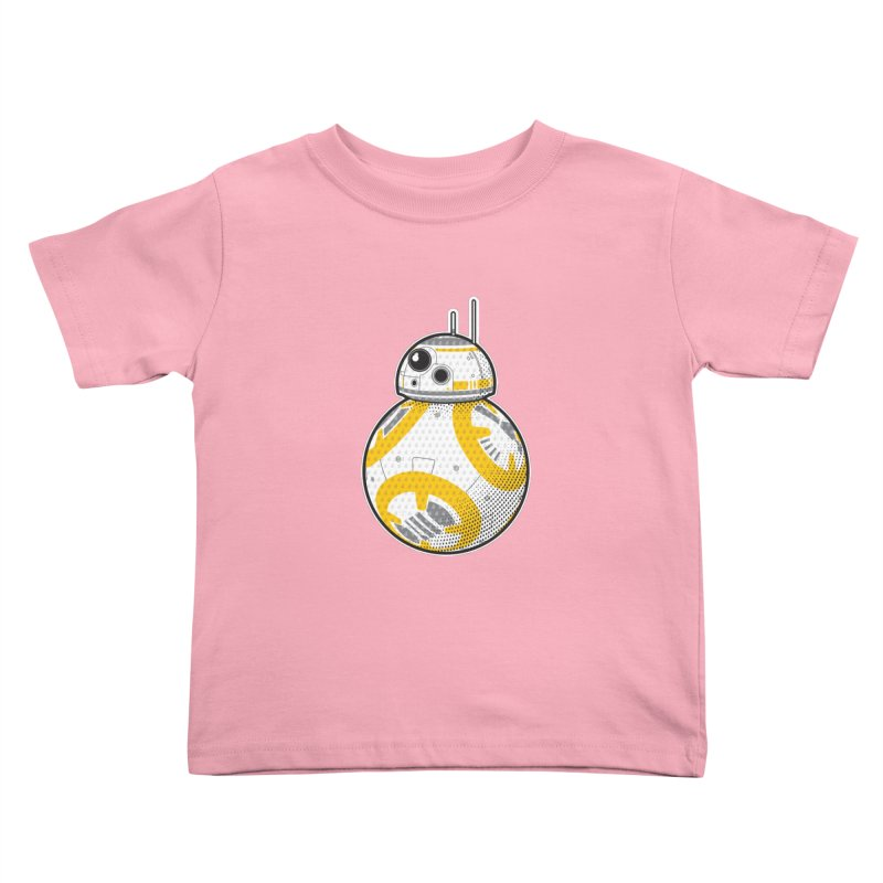 Meta BB-8 Kids Toddler T-Shirt by Joel Siegel's Artist Shop
