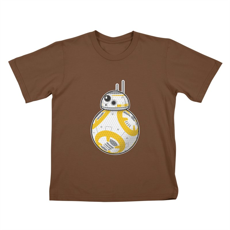 Meta BB-8 Kids T-Shirt by Joel Siegel's Artist Shop