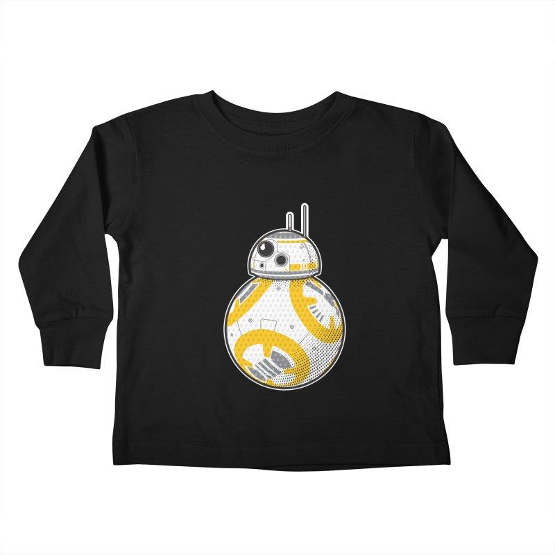 Meta BB-8 Kids Toddler Longsleeve T-Shirt by Joel Siegel's Artist Shop