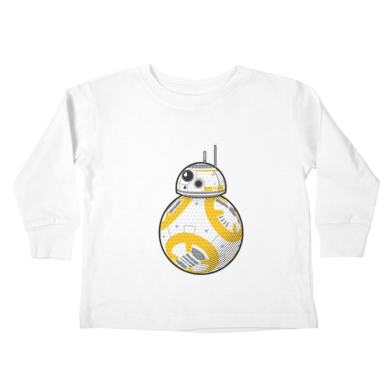 Meta BB-8 Kids Toddler Longsleeve T-Shirt by Joel Siegel's Artist Shop