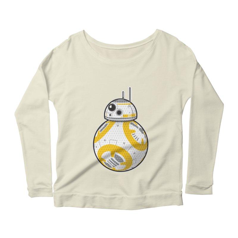 Meta BB-8 Women's Scoop Neck Longsleeve T-Shirt by Joel Siegel's Artist Shop