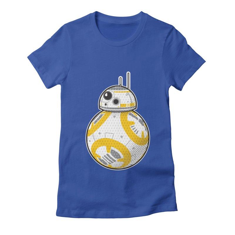 Meta BB-8 Women's Fitted T-Shirt by Joel Siegel's Artist Shop