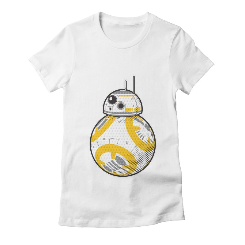 Meta BB-8 Women's Fitted T-Shirt by Joel Siegel's Artist Shop