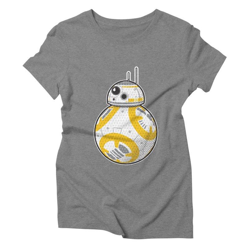 Meta BB-8 Women's Triblend T-Shirt by Joel Siegel's Artist Shop