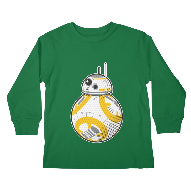 Meta BB-8 Kids Longsleeve T-Shirt by Joel Siegel's Artist Shop