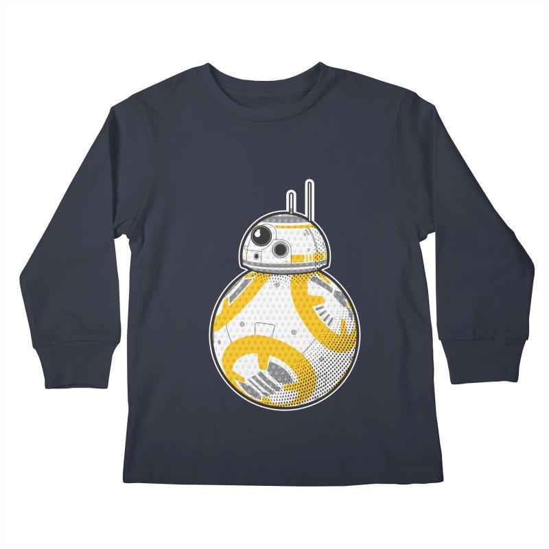 Meta BB-8 Kids Longsleeve T-Shirt by Joel Siegel's Artist Shop
