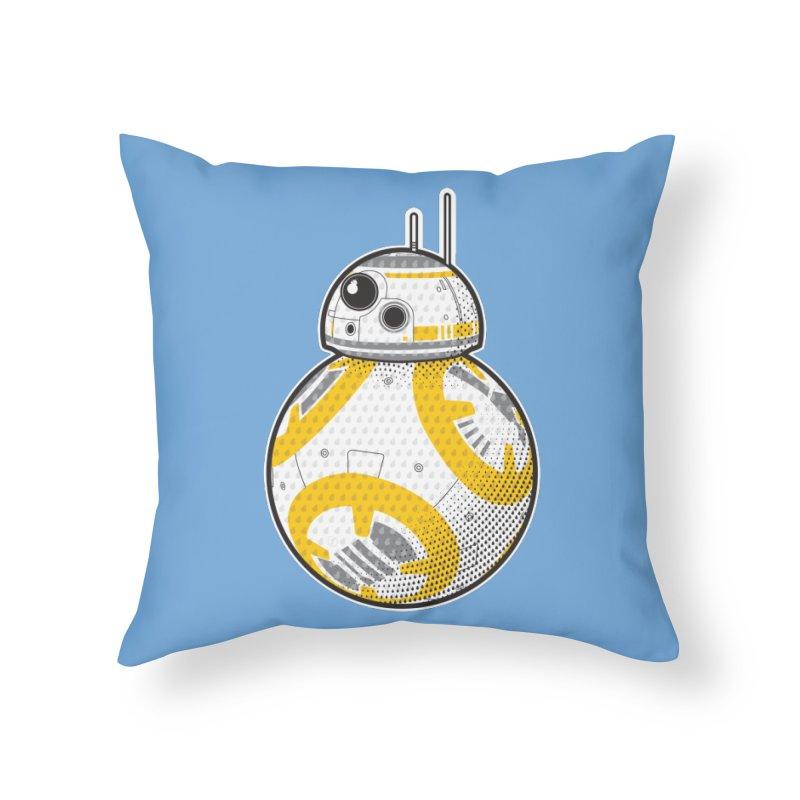 Meta BB-8 Home Throw Pillow by Joel Siegel's Artist Shop