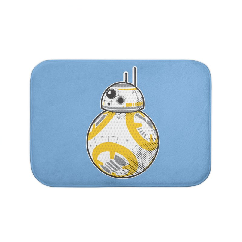 Meta BB-8 Home Bath Mat by Joel Siegel's Artist Shop
