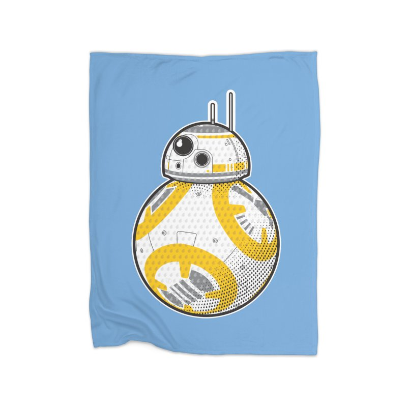 Meta BB-8 Home Fleece Blanket Blanket by Joel Siegel's Artist Shop