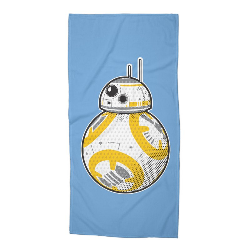 Meta BB-8 Accessories Beach Towel by Joel Siegel's Artist Shop