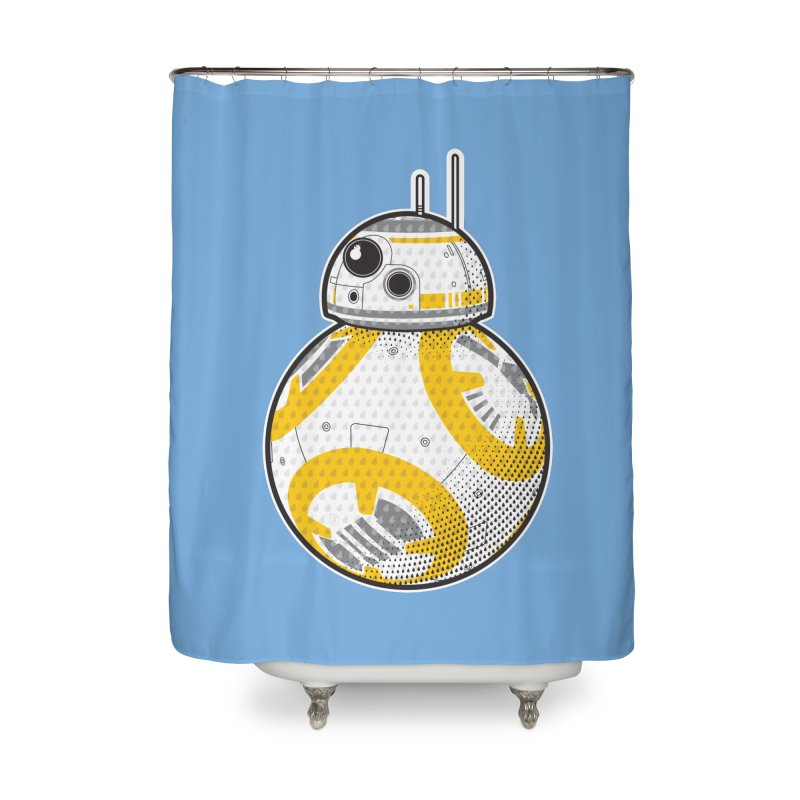 Meta BB-8 Home Shower Curtain by Joel Siegel's Artist Shop