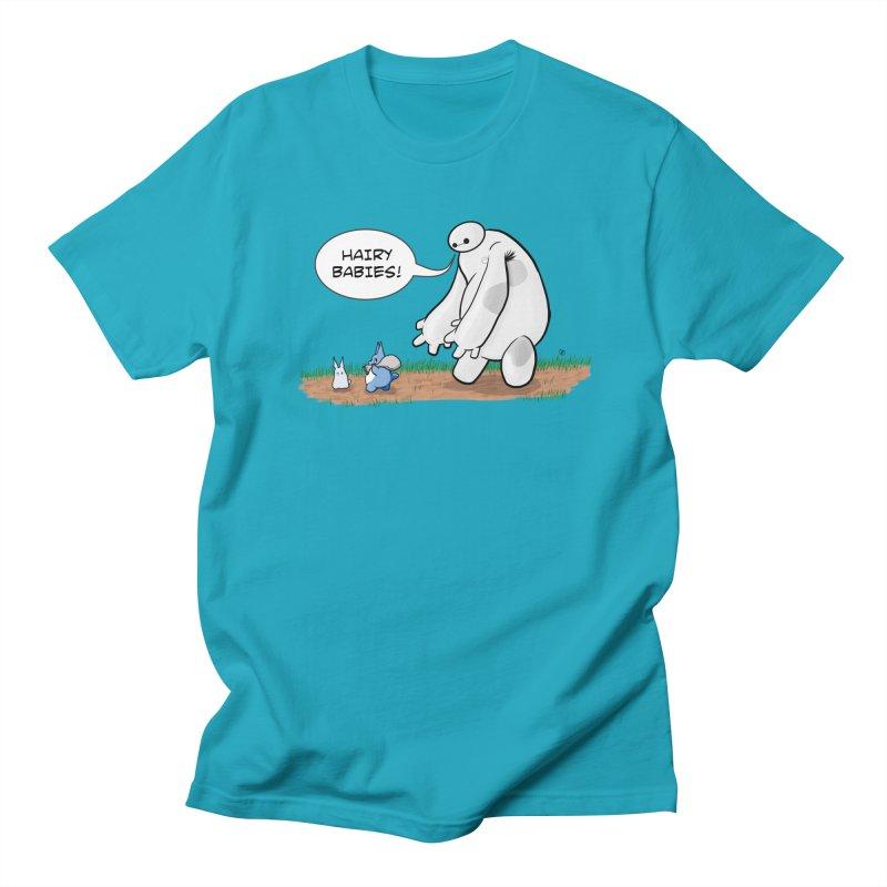 Hairy Babies Men's T-Shirt by Joel Siegel's Artist Shop