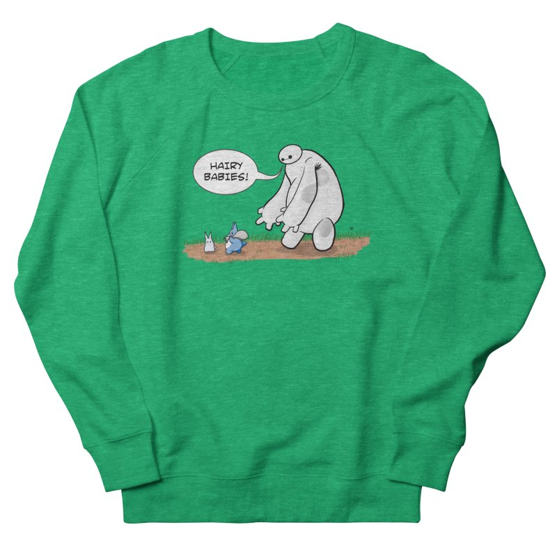 Hairy Babies Women's Sweatshirt by Joel Siegel's Artist Shop