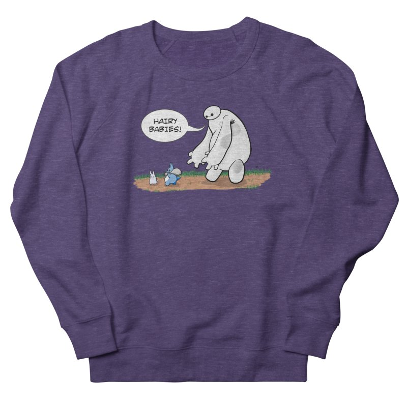 Hairy Babies Men's Sweatshirt by Joel Siegel's Artist Shop