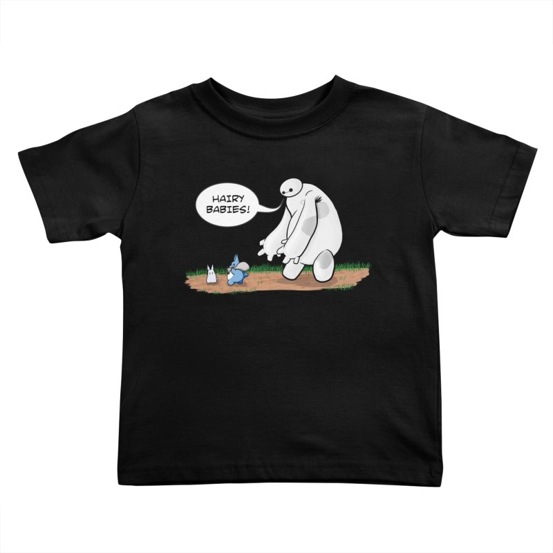 Hairy Babies Kids Toddler T-Shirt by Joel Siegel's Artist Shop